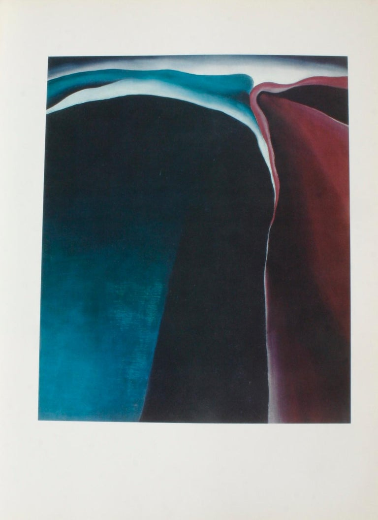 Georgia O'Keeffe Studio Book In Good Condition For Sale In valatie, NY