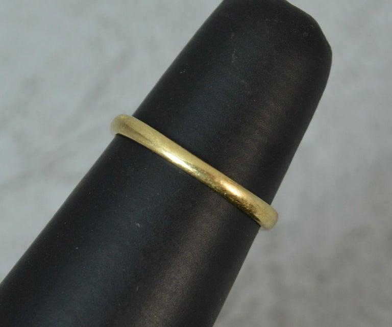 George III Georgian 18 Carat Gold Rose Cut Diamond Cluster Ring For Sale