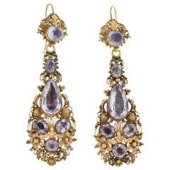 1850s Earrings