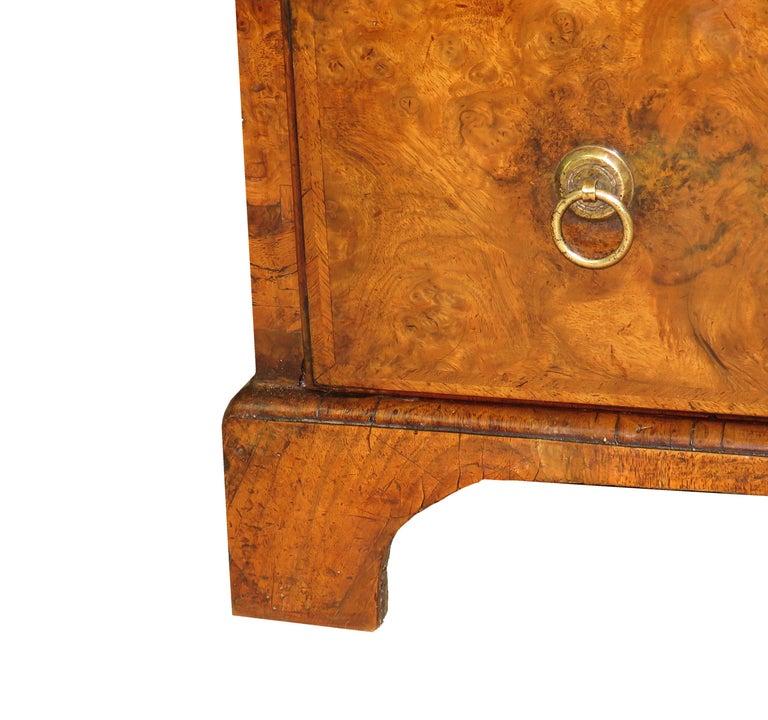Georgian 18th Century Walnut Antique Bureau Bookcase 1