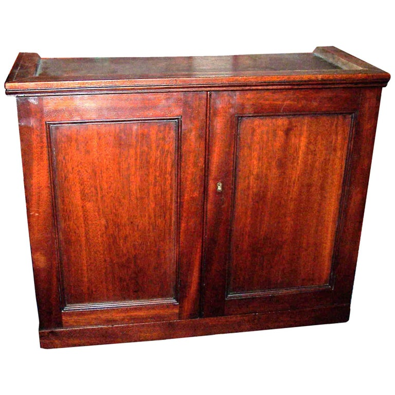 Georgian Antique Wall Hanging Table Cabinet