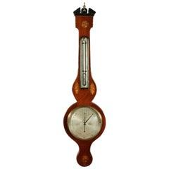 Georgian Barometer & Thermometer, 19th Century