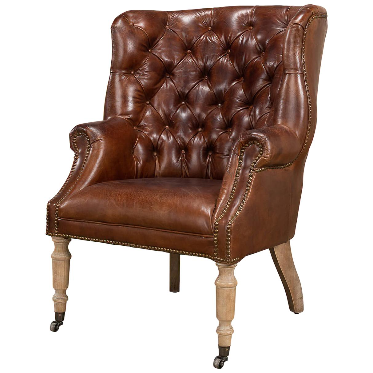 Georgian Barrel Back Wingchair