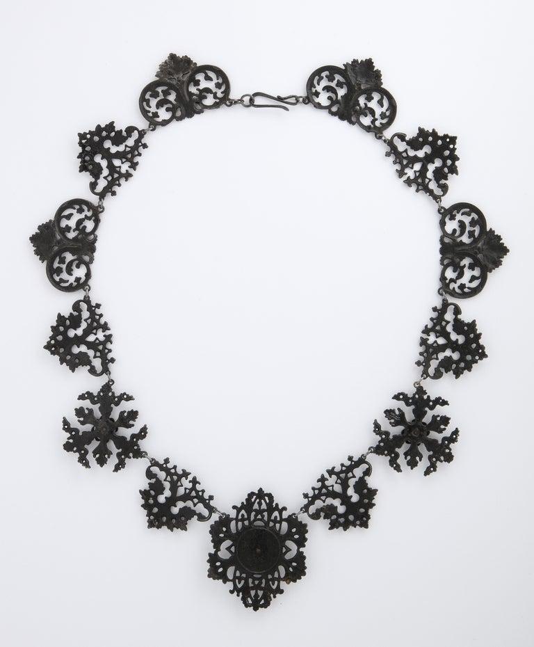Women's Georgian Berlin Iron Necklace c. 1800