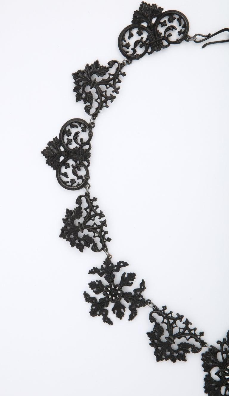 Georgian Berlin Iron Necklace c. 1800 2