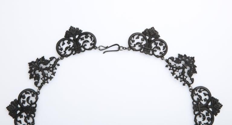Georgian Berlin Iron Necklace c. 1800 3