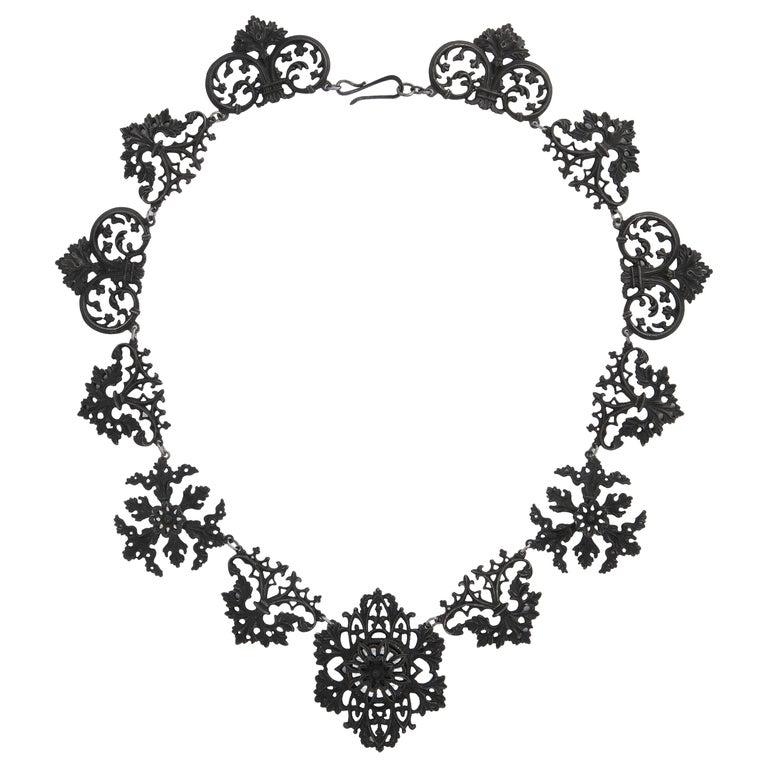 Georgian Berlin Iron Necklace c. 1800
