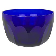 Hand Blown & Cut Bristol Blue Finger Bowl-English, Georgian Period