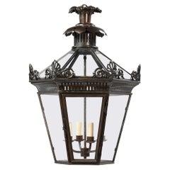 Georgian Bronzed Lantern