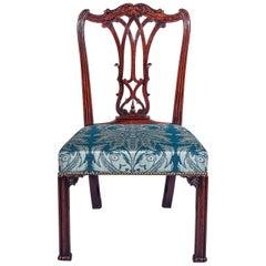 Georgianischer Chippendale Stuhl