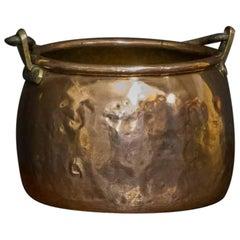 Georgian Copper Pot