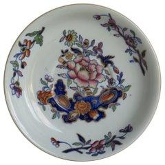 Georgian Davenport Saucer Dish or Plate Ironstone in Pattern 659, circa 1815