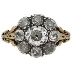 Georgian Diamond Cluster Ring, circa 1830