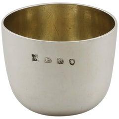 Georgian English Sterling Silver Tumbler Cup