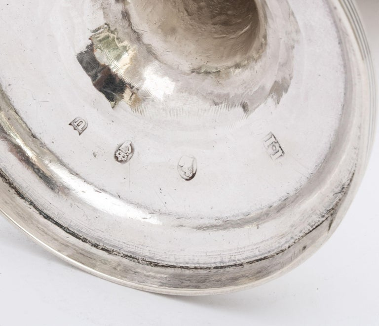 Georgian 'George III' Irish Sterling Silver Goblet For Sale 2