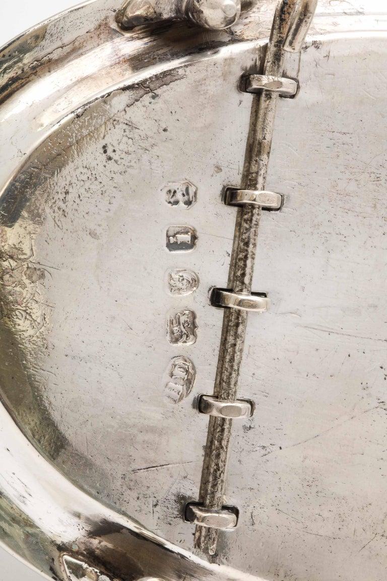Georgian 'George III' Sterling Silver Footed Toast Rack For Sale 7