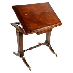 Georgian Gillows Stamped Architect's Table, 19th Century