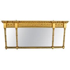 Georgian Gilt Over mantel Mirror, 19th Century