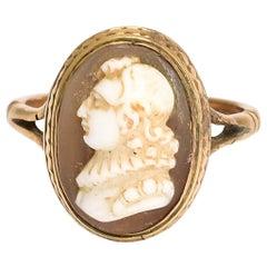 Georgian John Milton Cameo Ring