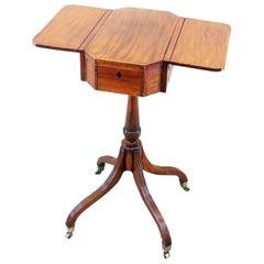 Georgian Mahogany 18th Century Occasional Work Table