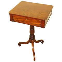 Georgian Mahogany 19th Century Oblong Lamp Table