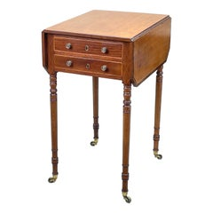 Georgian Mahogany Baby Pembroke Table