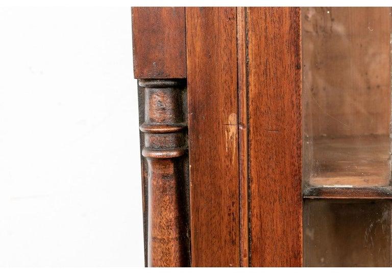 Georgian Mahogany Bookcase Secretary For Sale 9