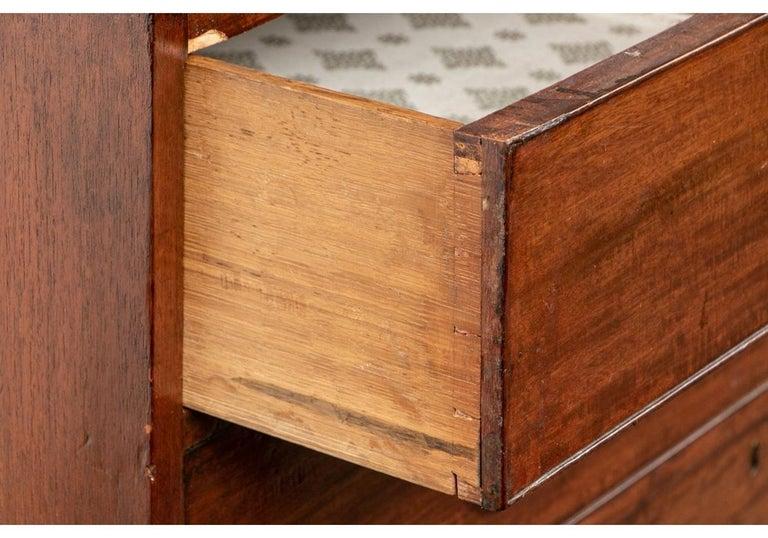 Georgian Mahogany Bookcase Secretary For Sale 11