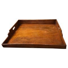 Georgian Mahogany Butler's Tray