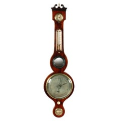 Georgian Mahogany Cased Barometer, 19th Century