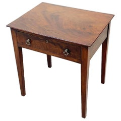 Georgian Mahogany Childs Size Side Table