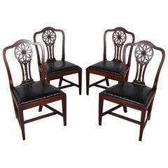 Georgian Mahogany Dining Chairs
