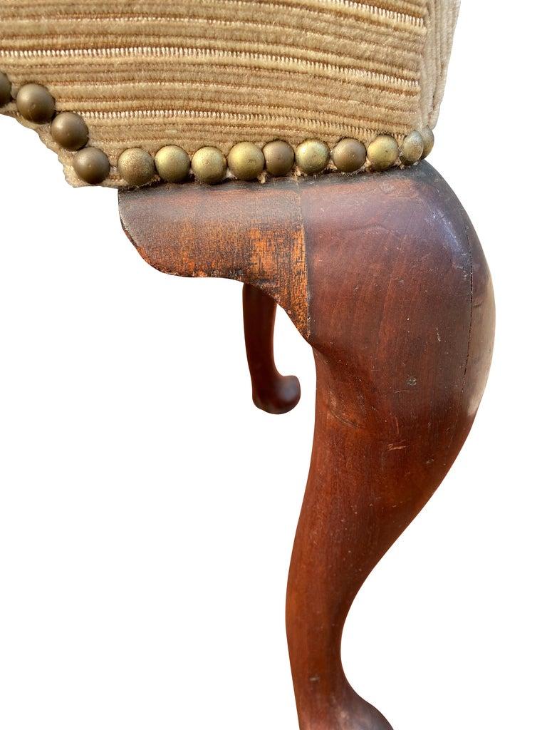 Georgian Mahogany Foot Stool 1
