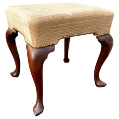 Georgian Mahogany Foot Stool