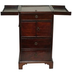 Georgian Mahogany Gentleman's Washstand, English, circa 1800
