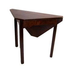 Georgian Mahogany Hankerchief Table