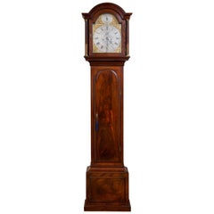 Georgian Mahogany Long Case Clock by Edward Arnold, St Neotts