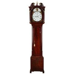 Georgian Mahogany Longcase Clock by John Morrison, Edinburgh