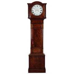 Georgian Mahogany Longcase Clock by William Kennedy, Antrim