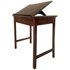 Georgian Mahogany Reading or Writing Table