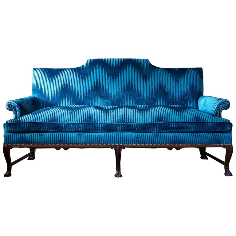 Georgian Mahogany Sofa For Sale