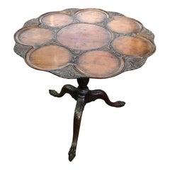 Georgian Mahogany Tilt-Top Supper Table, 19th Century