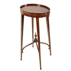 Georgian Mahogany Urn Stand, 18th Century