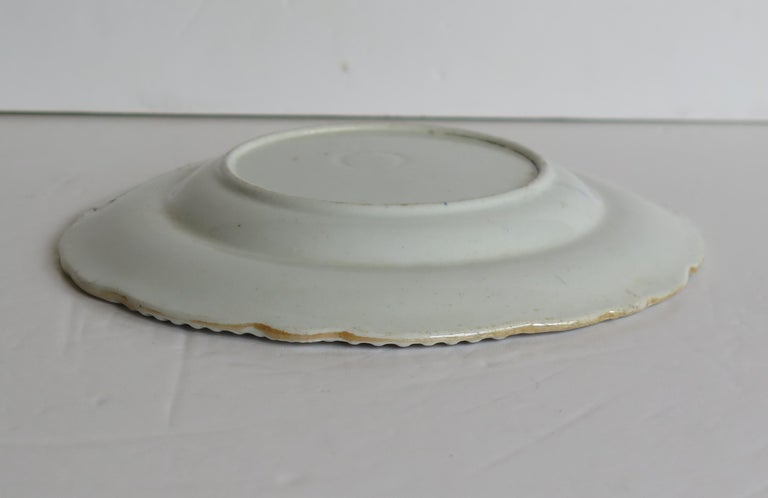 Georgian Mason's Ironstone Side Plate in Heavily Floral Japan Ptn, Circa 1815 For Sale 11