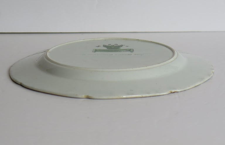 Georgian Mason's Ironstone Side Plate in Table and Flower Pot Pattern, Ca 1818 For Sale 5