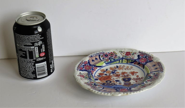 Georgian Mason's Ironstone Side Plate in Vase & Rock gilded pattern, circa 1815 For Sale 4