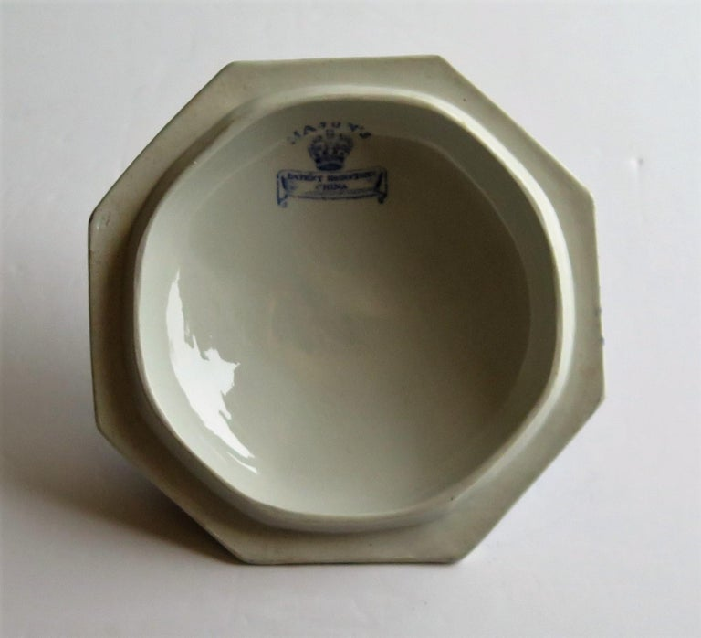 Georgian Mason's Ironstone Tureen and Lid and Stand Japan Basket Pattern, C 1820 For Sale 10