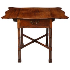 Georgian Pembroke Table in the Manner of Thomas Chippendale