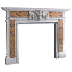 Georgian Revival Marble Fireplace, English, Fire Surround, Dominic Hurley