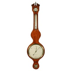 Georgian Satinwood Dial Barometer, 19th Century